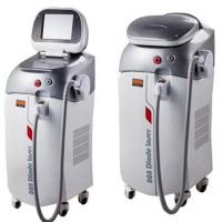 Cheap 1 – 12 Hz 808nm Diode Laser Hair Removal Machine With Big Spot Size for sale