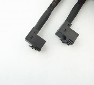 Cheap RoHS Internal Copper 36P Elbow Supermicro SAS Cable for sale