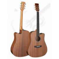 Cheap 41inch Classic Whole Sapele Western Guitar / Vintage Wood Acoustic Guitar For Learners TP- for sale