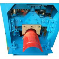 Cheap 3KW Ridge Cap Roll Forming Machine For Color Steel Sheet , 0.3-0.6mm Thickness for sale