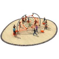 Cheap 580*400*250cm Rope Climbing Frame Playground For Open Space TQ - TN501 for sale