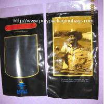 Cheap Six Cigar Plastic Bags / Cigar Ziplock Bags OPP PE Laminated Material for sale