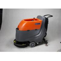 Cheap Modern Walk Behind Floor Scrubber Supermarket / Factory Cleaning Equipment for sale