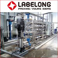 Cheap Small Capacity Reverse Osmosis Water Filteration System 1000L For Water Bottling for sale