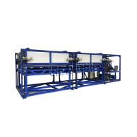 Buy cheap Industrial Direct Cooling Block Ice Machine 10 Tons Per Day With Aluminum Material from wholesalers