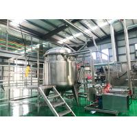 Cheap Full Automatic Dried Fruit Processing Equipment Energy Saving  150 T / D for sale