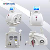 Cheap Handpiece Permanent Diode Laser Hair Removal Machine 808nm 600w In Pure White for sale