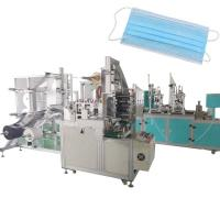 Cheap Automatic Disposable Civil Face Mask Manufacturing Machine 3 Player OEM for sale