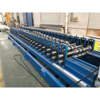 Industrial Continuous Shutter Door Roll Forming Machine With Pre - Cutting