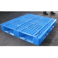 Cheap Plastic HDPE Material and Double Faced Style pallet for cold storage 1400*1100*150 for sale
