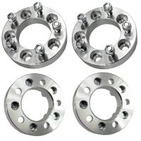 """Cheap 32mm Wheel Spacers Adapters 5x4.5 to 5x5   1.25"""" Thick   12x1.5 Studs for sale"""