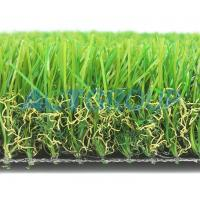Cheap Luxury Soft  Commercial Artificial Grass  Comfortable Anti - Slip No Weather Limited for sale