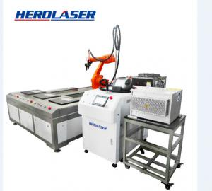 Cheap Herolaser 1070nm Robotic Spot Welding Machine For Precision Machining for sale