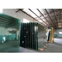 Cheap Low Iron Ultra Clear Float Glass For Buildings Decorative , 1.8mm-19mm Thick for sale