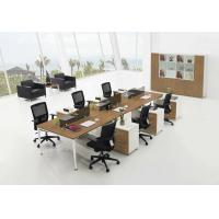 Buy cheap Pine Veneered Particle Board Office Furniture Desk For Commercial Work Building from wholesalers