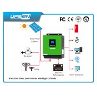 Quality 24vdc To 220vac off Grid Solar Power Inverter with Numerous protection functions wholesale