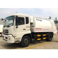 Cheap Automatic Special Purpose Vehicles Rear Loader Garbage Truck Hydraulic System for sale