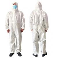 Cheap Airy Disposable Protective Clothing For Clean Room / Pharmaceutical Industry for sale