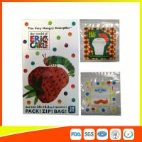 Colorful Custom Printed Ziplock Bags Recyclable For Cosmetic / Food Packing