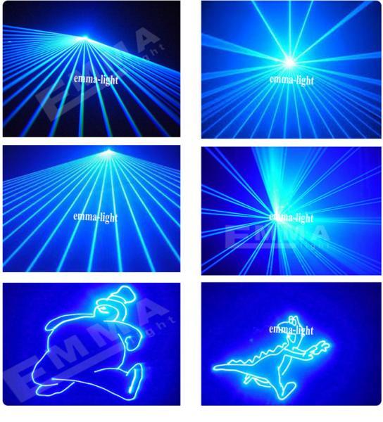 4w blue effects