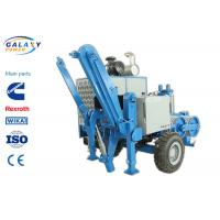 Cheap 2.5km/H Electrical Cable Pulling Equipment , 4800kg Hydraulic Cable Puller for sale