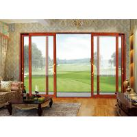 Cheap Europe Fashion Aluminium Sliding Doors Waterproof With Tempered Glass for sale