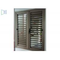 Buy cheap Fixed Ventilation Aluminium Louvre Windows With Blinds Rainproof from wholesalers