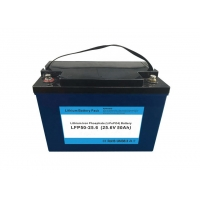 Cheap IP56 Rechargeable 1880Wh 50Ah 24V Lithium Ion Battery for sale