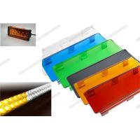 Cheap 3 Inch / 6 Inch Automotive Lighting Accessories Colorful Outside Led Light Bar Cover for sale
