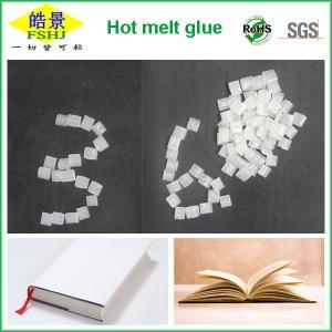 Spine Bookbinding Hot Melt Glue For Books , EVA Paper Binding Glue Granule