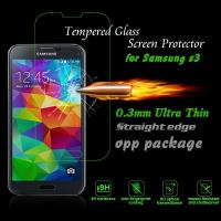Cheap Real 2.5D Tempered Glass LCD Phone Screen Protection For Samsung Galaxy S3 MINI for sale