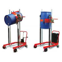 Cheap 300kg drum lifter, CA-E301 manual oil drum truck for emptying and transporting drums for sale