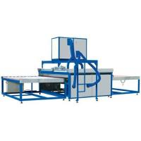 Washing And Drying Glass Processing Machines , Glass Cleaning Machine