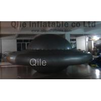 China Decorative Giant Inflatable Advertising Balloons , Flying UFO Shaped Inflatable Helium Balloons on sale