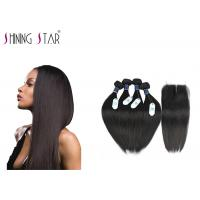 Cheap 100 Brazilian Unprocessed Remy Hair Extensions No Animal And Synthetic Mixed for sale