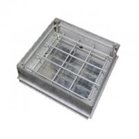 Cheap Sealed Recessed Aluminum Manhole Cover EN124 OEM and ODM With Lock for sale