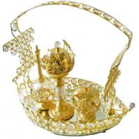 Cheap 2012 decorative household silver plated religious gifts for sale