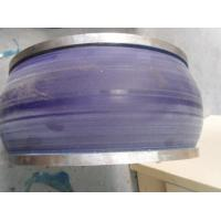 Cheap PU Polyurethane Wheels , Aging Resistant Industrial Coating Rollers for sale
