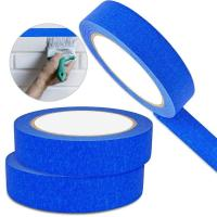 Cheap Crepe Masking Tape Good Heat Resistance Automotive Painters Colored Masking Tape For Decoration for sale