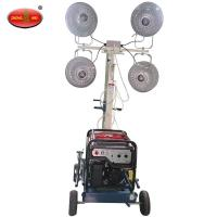 Quality MOT-400-A Trailer Mounted Construction Solar Mobile Tower Light wholesale
