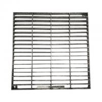 Cheap Press Locked Mild Steel bar Grating Hot Dip Galvanized ISO9001 Certification for sale