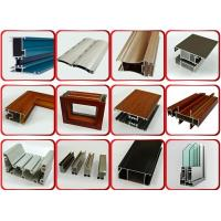 China Furniture Decoration Powder Coating Aluminium Profiles AA6063 T5 on sale