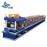 Cheap Automatic Touch Screen CZ Purlin Roll Forming Machine For Galvanized Metal Steel Sheet for sale