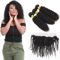 Cheap Non - Remy Healthy Virgin Peruvian Hair Extensions Natural Color No Shedding for sale