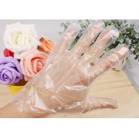 Disposable PE gloves/plastic gloves /cleaning gloves .
