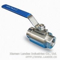 Cheap 1 Piece Stainless Steel Ball Valve for sale