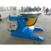 Buy cheap Loading Tube Capacity 2000Kg Welding Positioner French Schneider VFD Control Revolving Speed from wholesalers