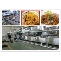 Cheap Full Automatic Fried Instant Noodles Manufacturing Machine Large Production Capacity for sale