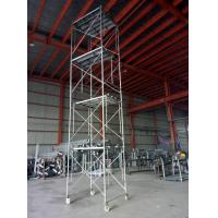 Cheap Galvanized M Scaffolding , Mobile Scaffolding System Carbon Structure Steel for sale