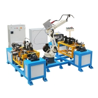 Buy cheap Hwashi 6 axes 6kg arm robot for weld, robot for welding, autonomous robots from wholesalers